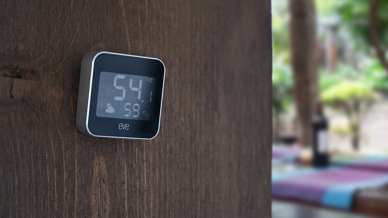 Eve Weather is a fantastic HomeKit weather station