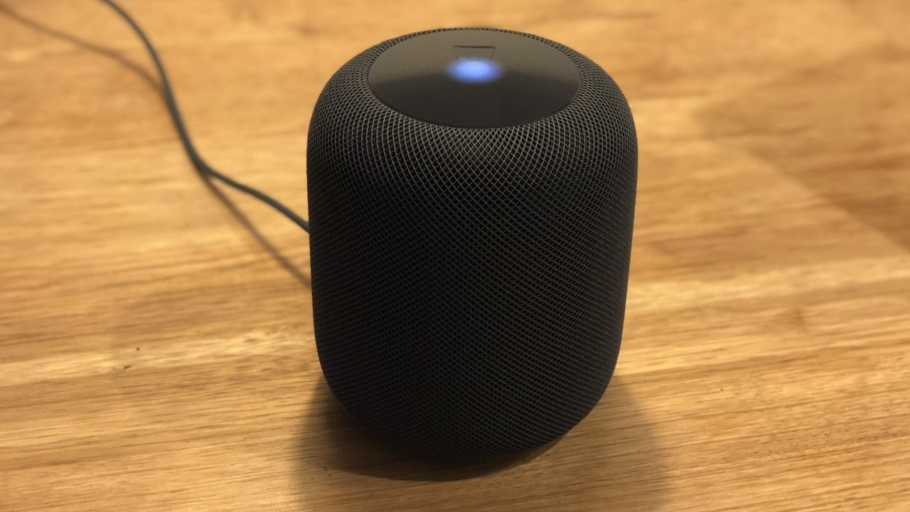 HomePod: great sound, no display, many mics