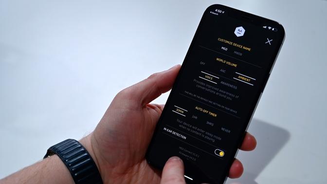 Master & Dynamic M&D Connect app