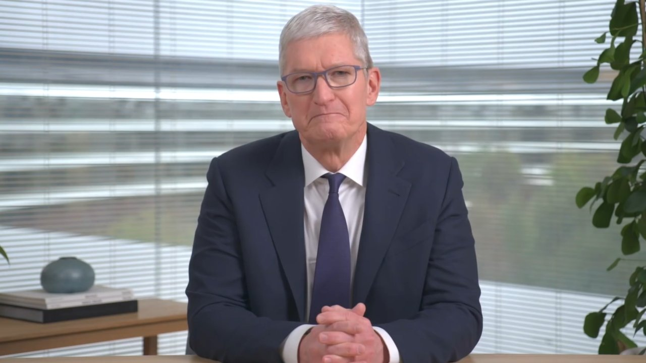 Current Apple CEO, Tim Cook