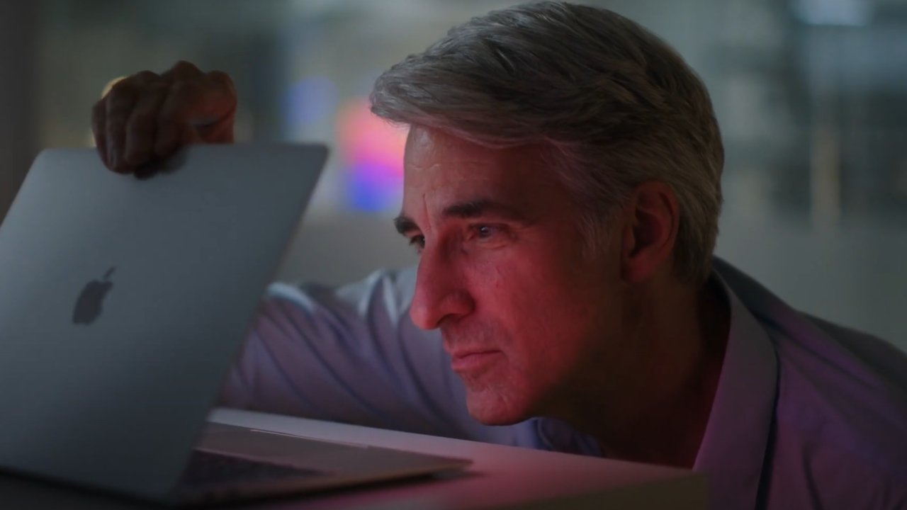 SVP Software Engineering, Craig Federighi