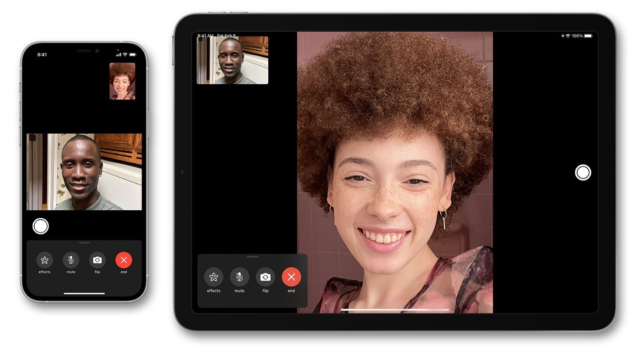 Contact your friends and family over an encrypted video call with FaceTime