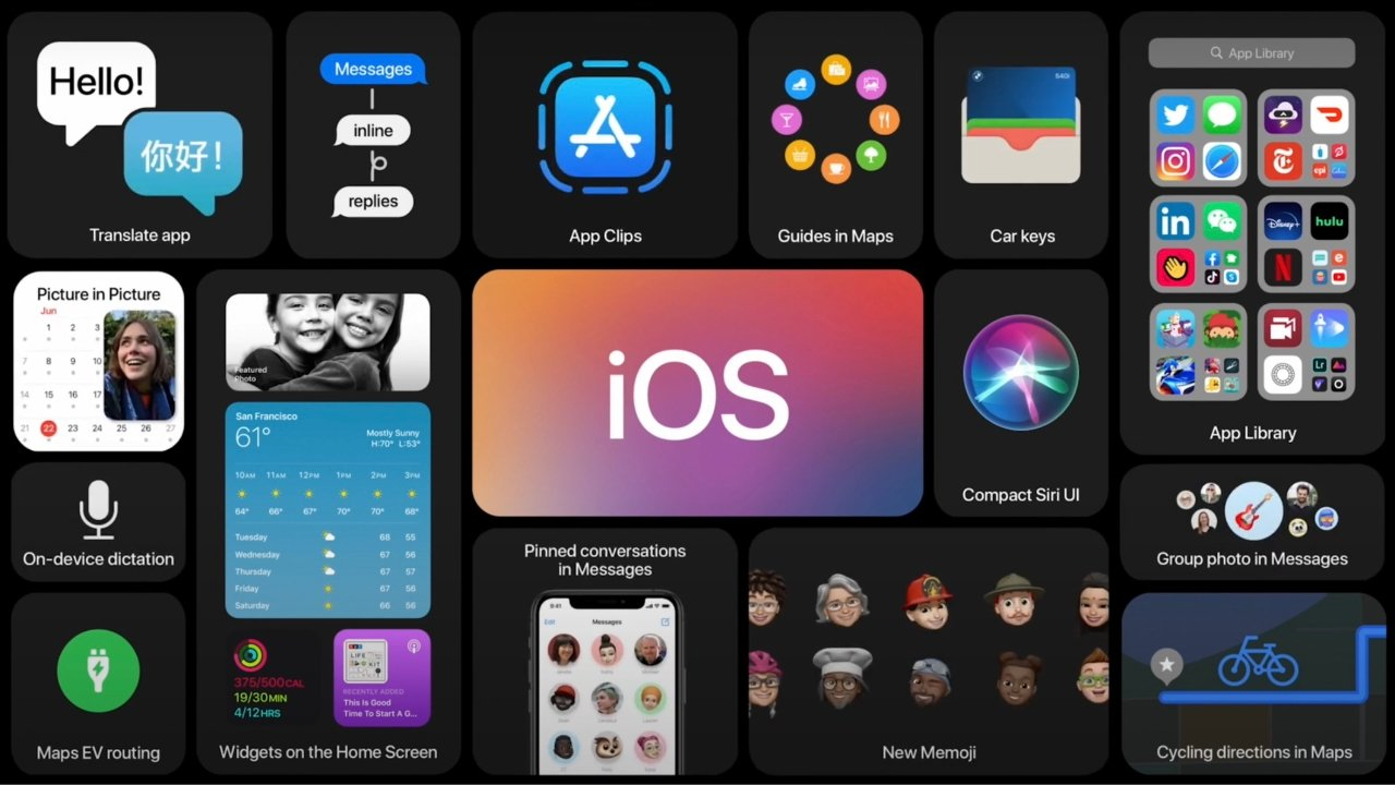 iOS powers the iPhone and iPod