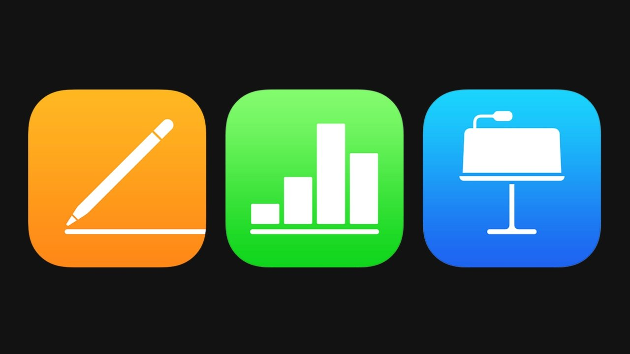 iWork consists of Pages, Numbers, and Keynote
