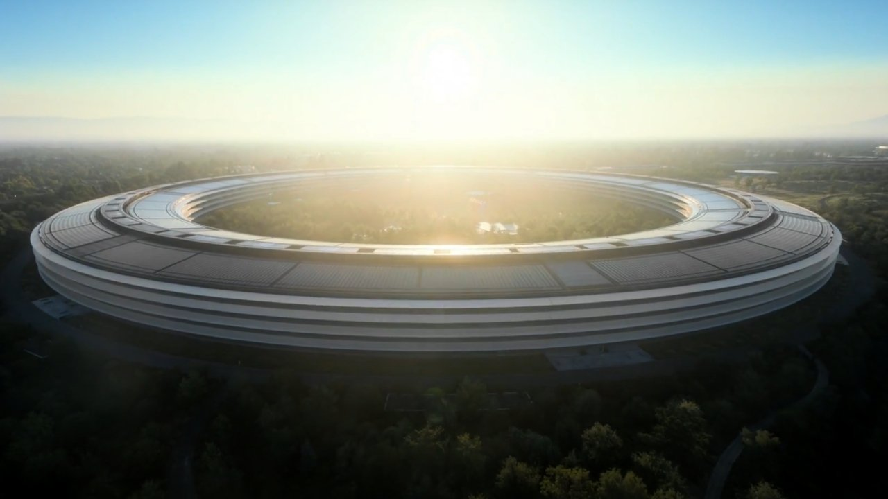 Apple Park holds 12,000 employees
