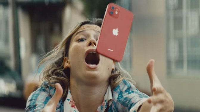 Apple highlights Ceramic Shield screen in new iPhone 12 ad