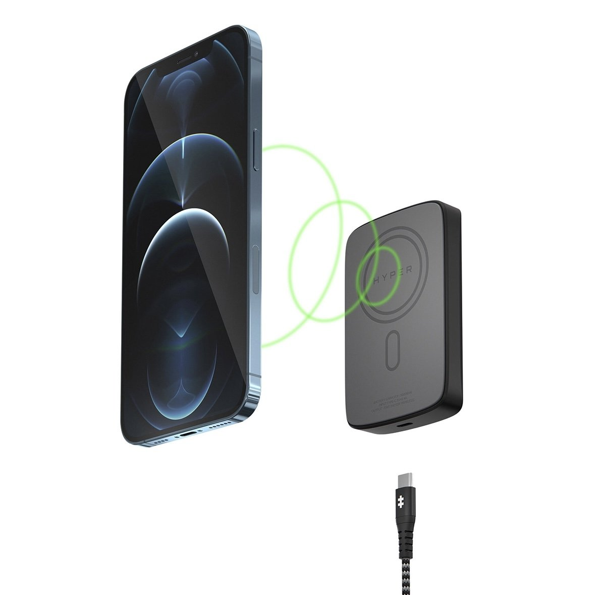 MagSafe helps align the Qi wireless charger