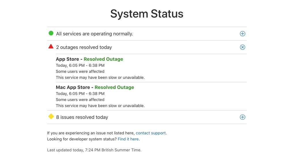 41077 79473 apple service status page