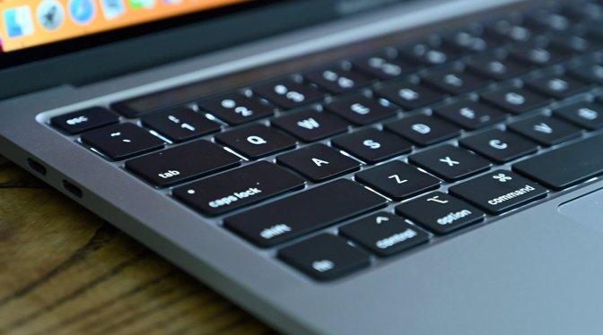 13-inch MacBook Pro keyboard