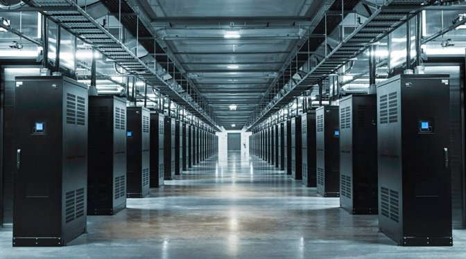 A Facebook data center in Sweden from 2016