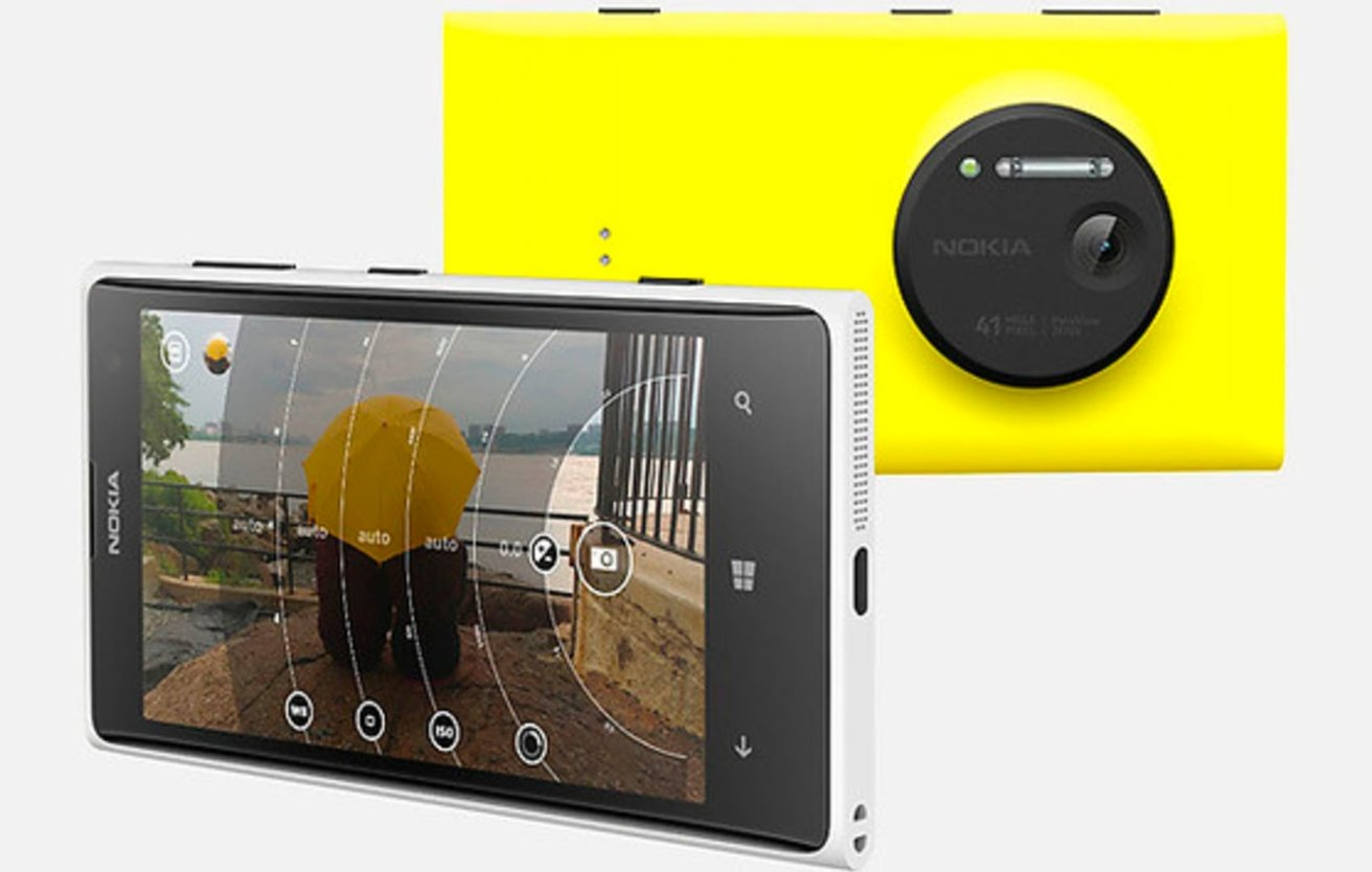 The Nokia Lumia 1020 used its high-resolution sensor to provide high-quality zooms.