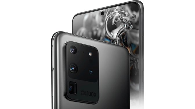 Samsung Galaxy S20 Ultra placed its folded lens assembly at the base of the camera bump
