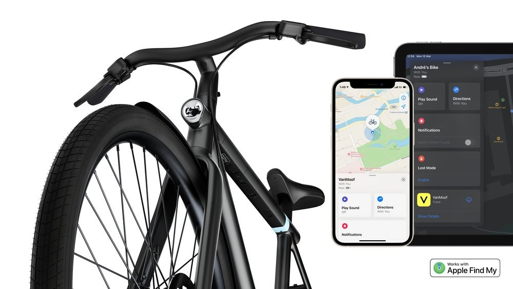 VanMoof is the first e-bike company to work with Find My