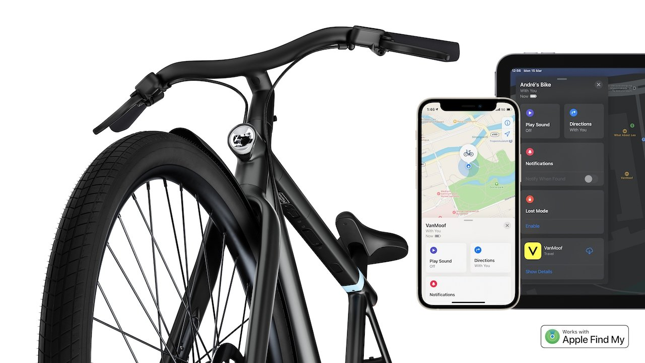 photo of VanMoof S3 and E3 electric bikes now compatible with Apple's Find My app image