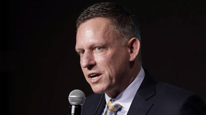 Peter Thiel calls Apple's relationship with China a 'real problem'
