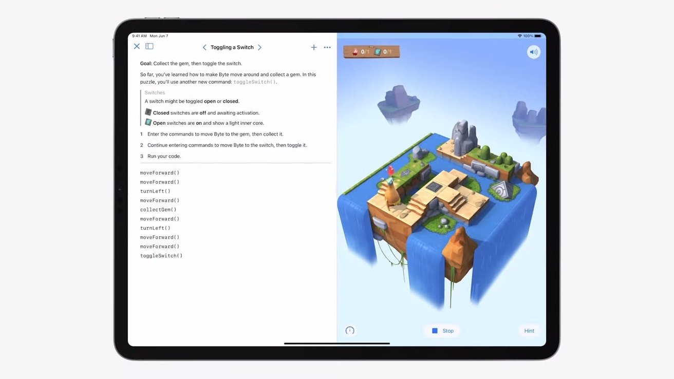 Write apps in SwiftUI then publish via Swift Playgrounds on iPadOS 15