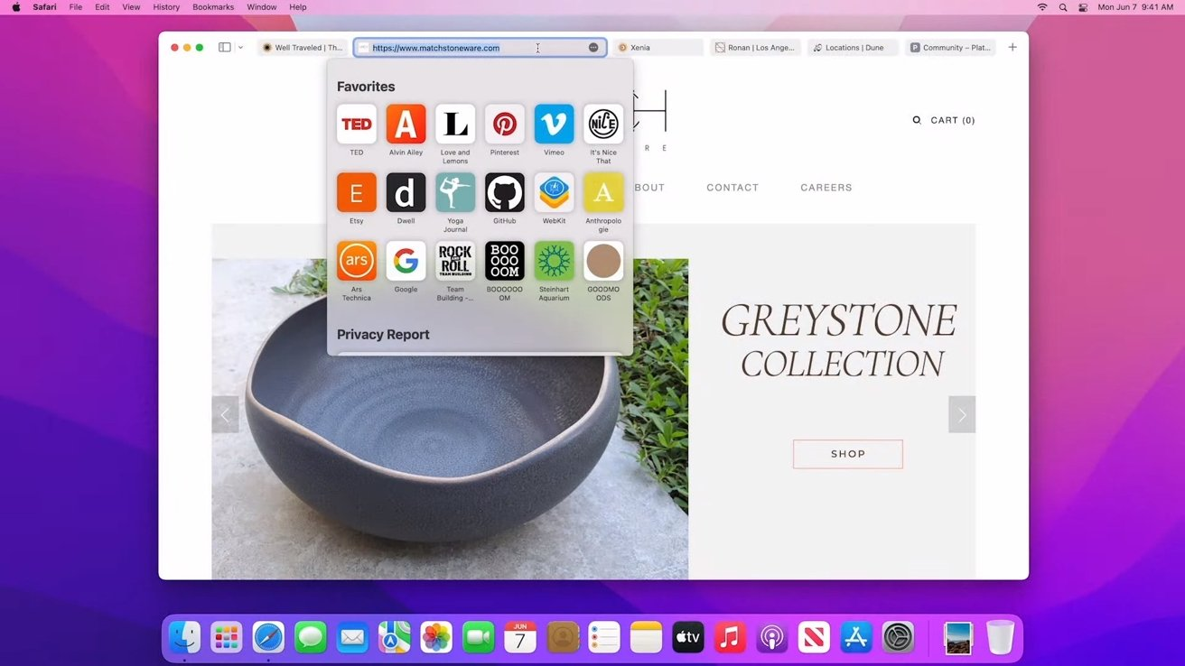Safari has a new design with better tab management