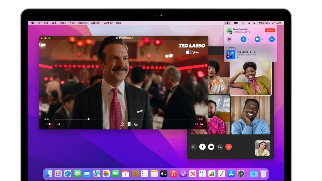 Watch movies together over FaceTime using SharePlay