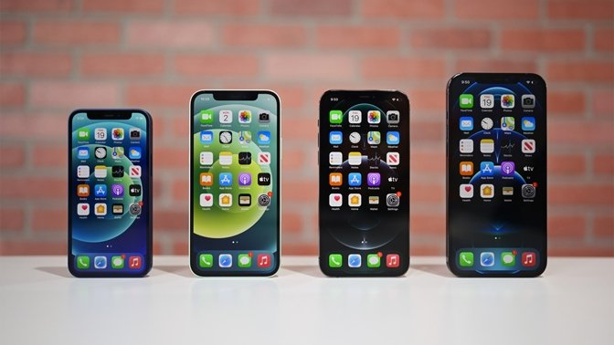 All four members of the iPhone 12 series made the top ten