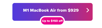 Apple M1 MacBook Air от 929 долларов