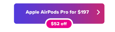 Apple AirPods on sale for $197