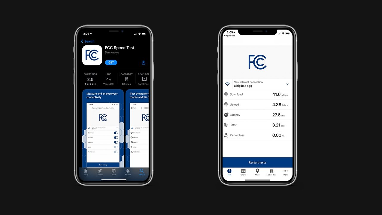 photo of FCC launches official speed test app for broadband data collection program image