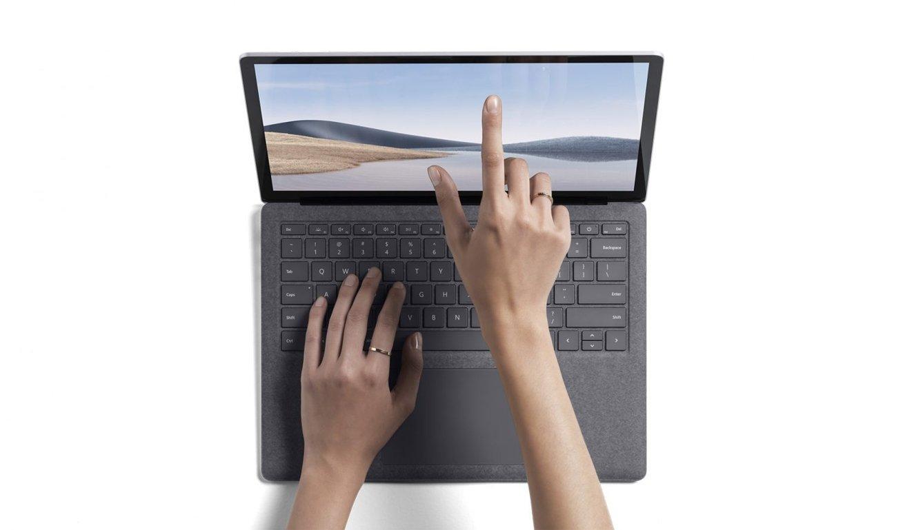 L'écran du Surface Laptop 4 a un rapport hauteur/largeur 3:2 et une prise en charge tactile.