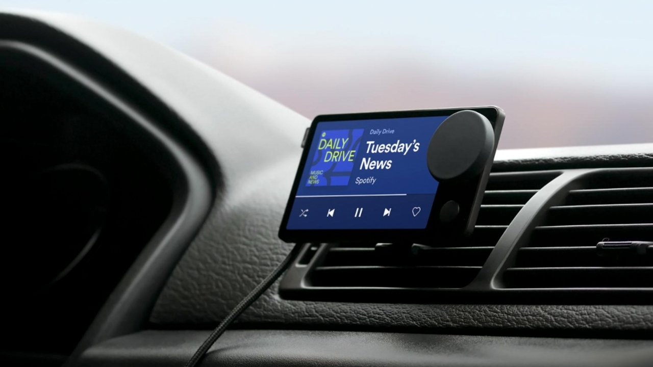 photo of Spotify announces 'Car Thing' smart music player image