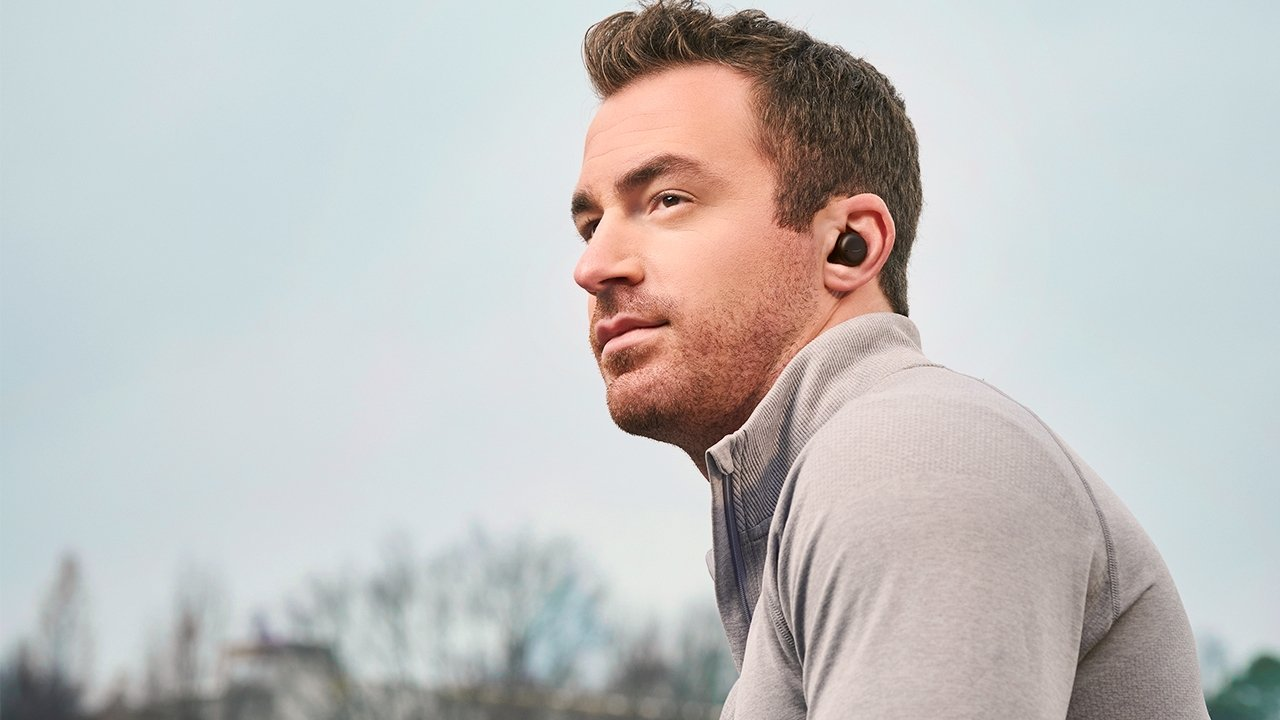 The updated earphones provide up to five hours of music playback with ANC on
