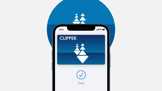 Bay Area Clipper Card now on Apple Pay