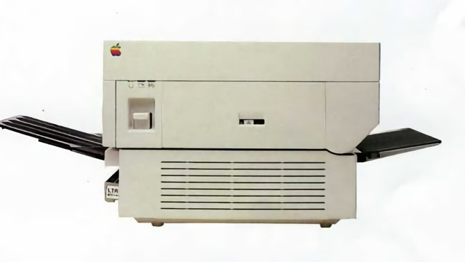 Apple's revolutionary LaserWriter was powered by PostScript, co-invented by Charles Geschke at Adobe