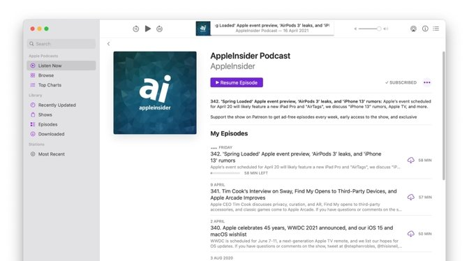 photo of Apple stops accepting new podcasts in iTunes Connect image