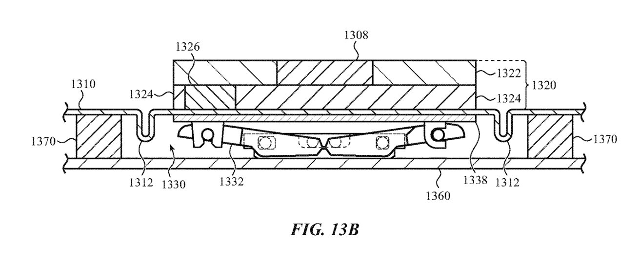 The flexible substrate could be employed in more complex keyboard mechanisms.