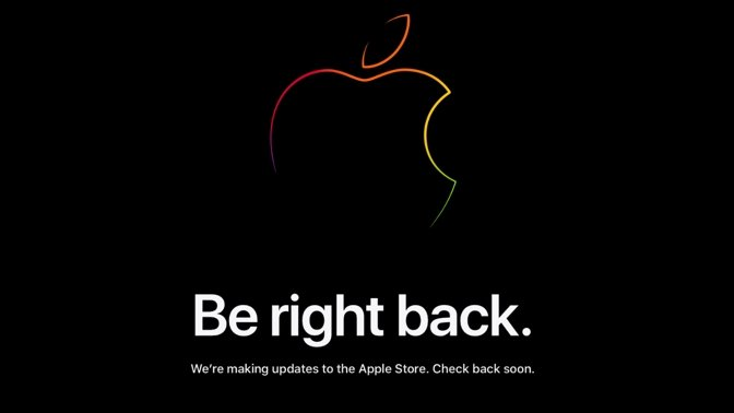 photo of Apple Store now fully down ahead of 'Spring Loaded' image