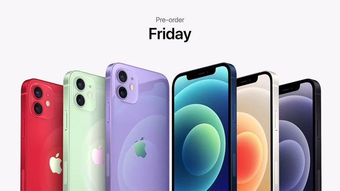 The purple iPhone 12 and iPhone 12 mini arrive on April 30