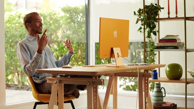 The new M1 iMac is available in seven colors