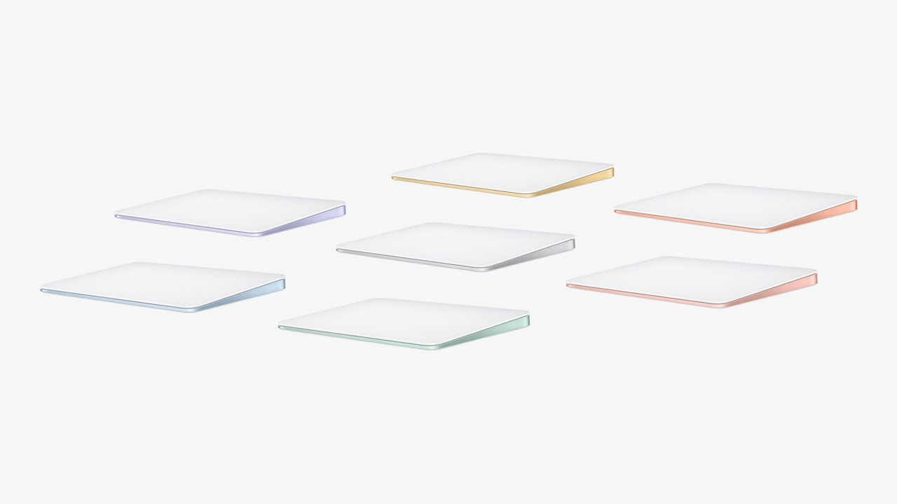 Apple's new iMac comes with color-matched accessories ...