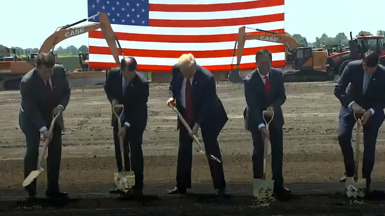 photo of Foxconn negotiates radically reduced Wisconsin plant deal image