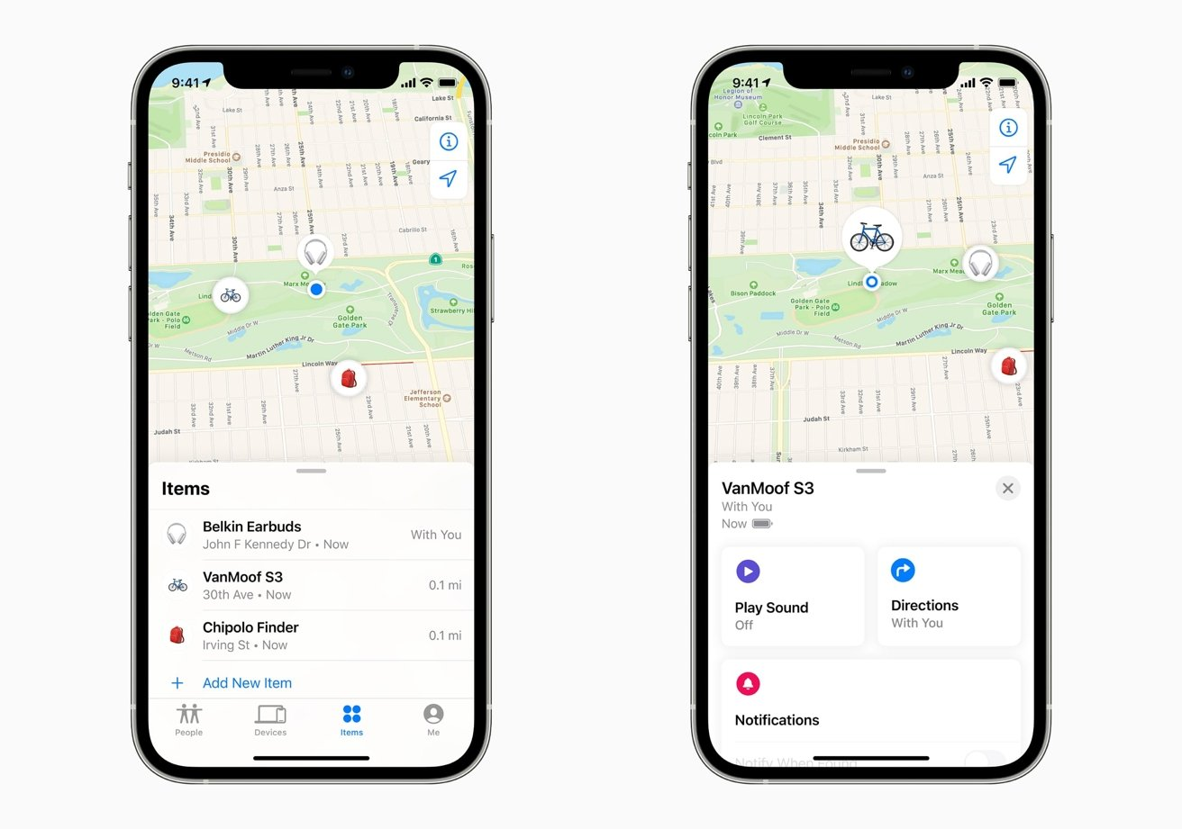 You can now use the Find My app in your iPhone to track down lost third-party devices with Find My network support.