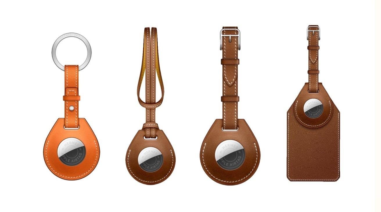 Hermes AirTag accessories