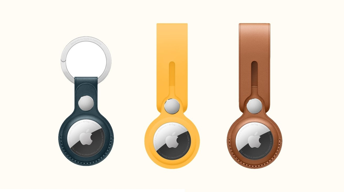 Apple AirTag Key Rings and Holders
