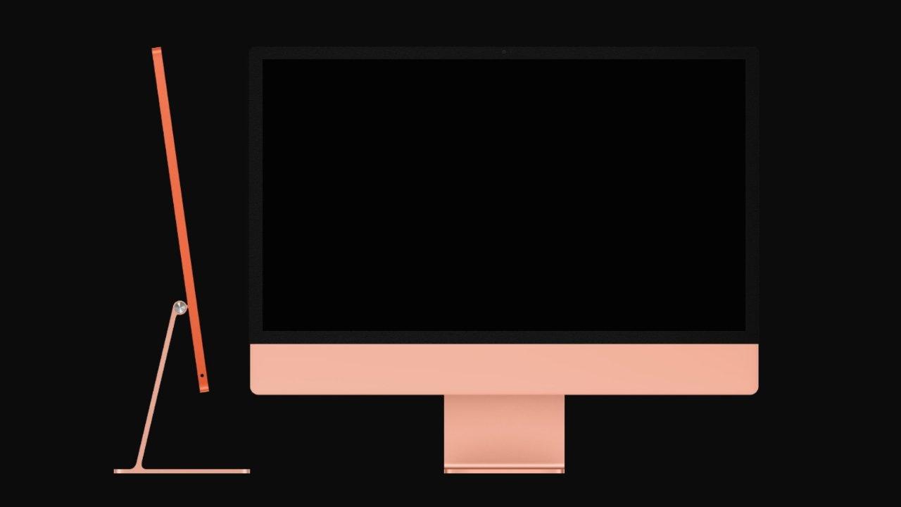 dbrand iMac наклейка