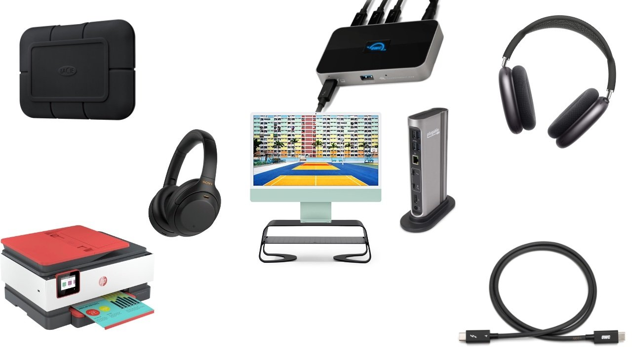 Accessories for the 24-inch iMac