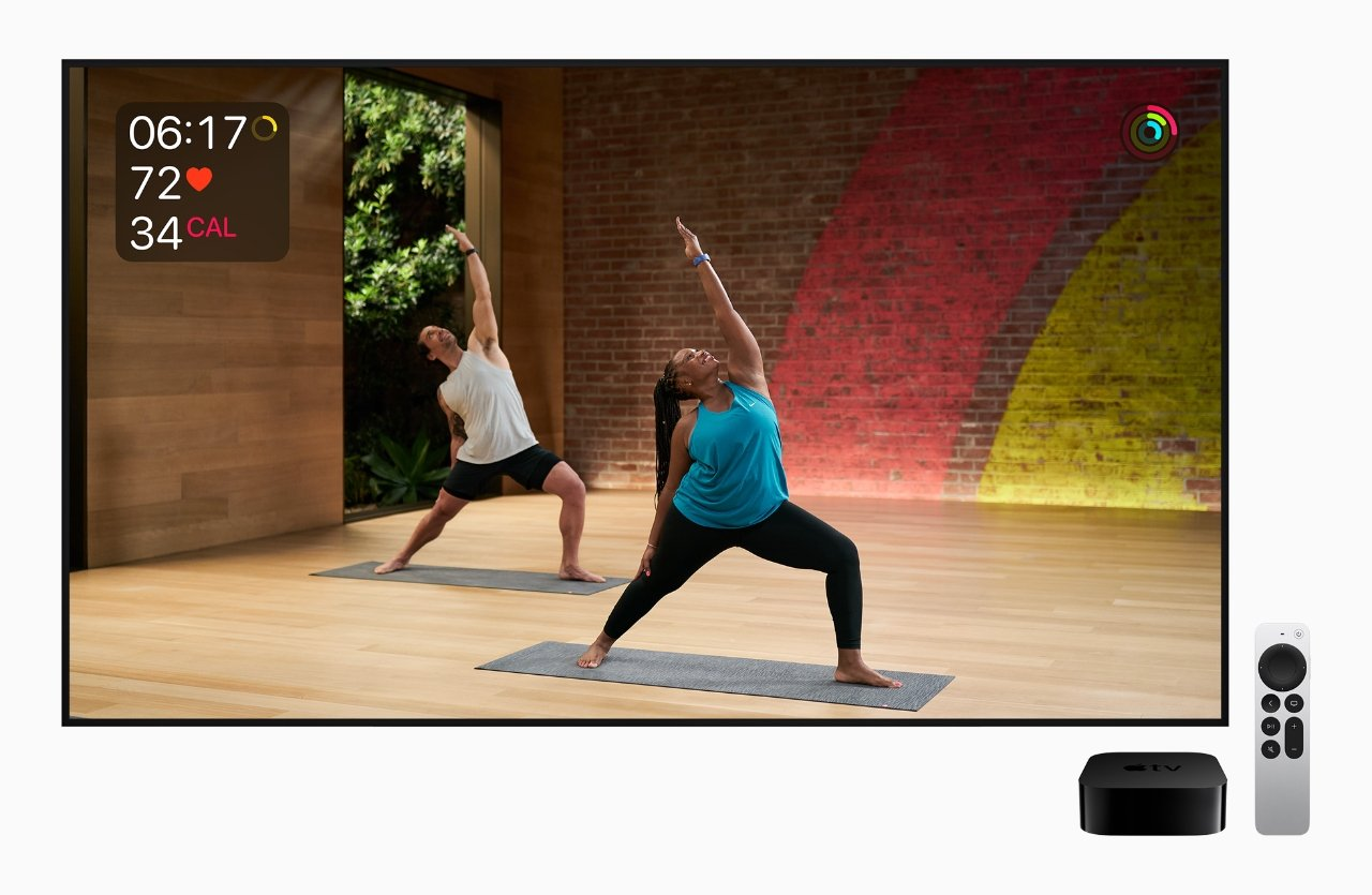 Apple TV 4K won't make you work out faster, fortunately