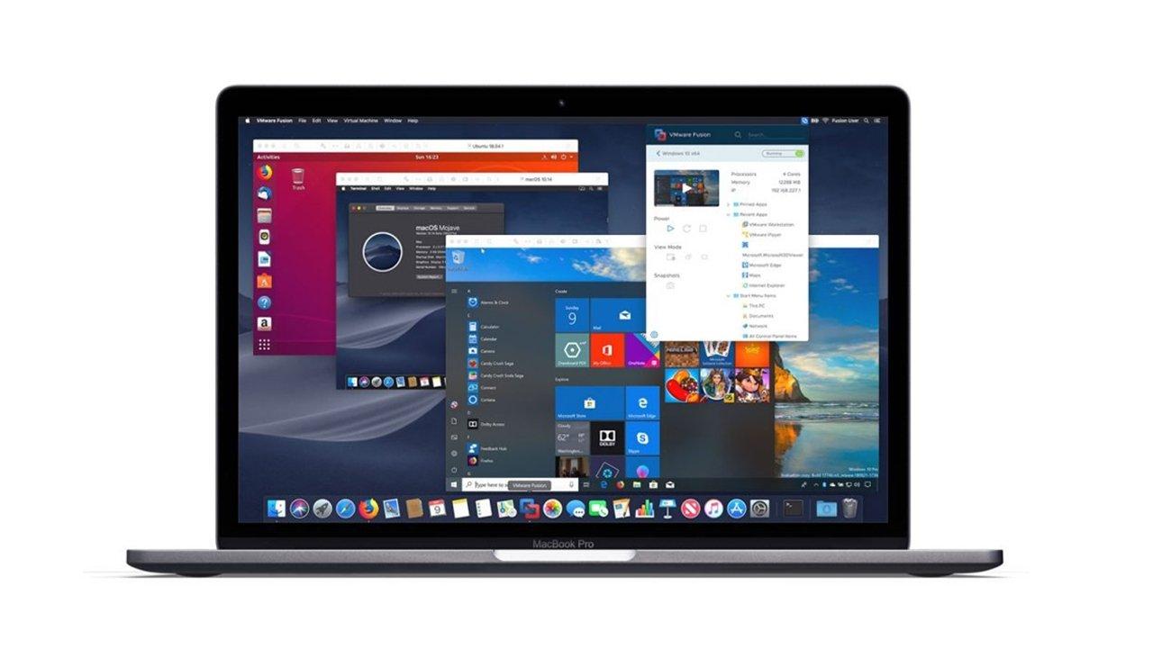 VMware Fusion работает на Big Sur