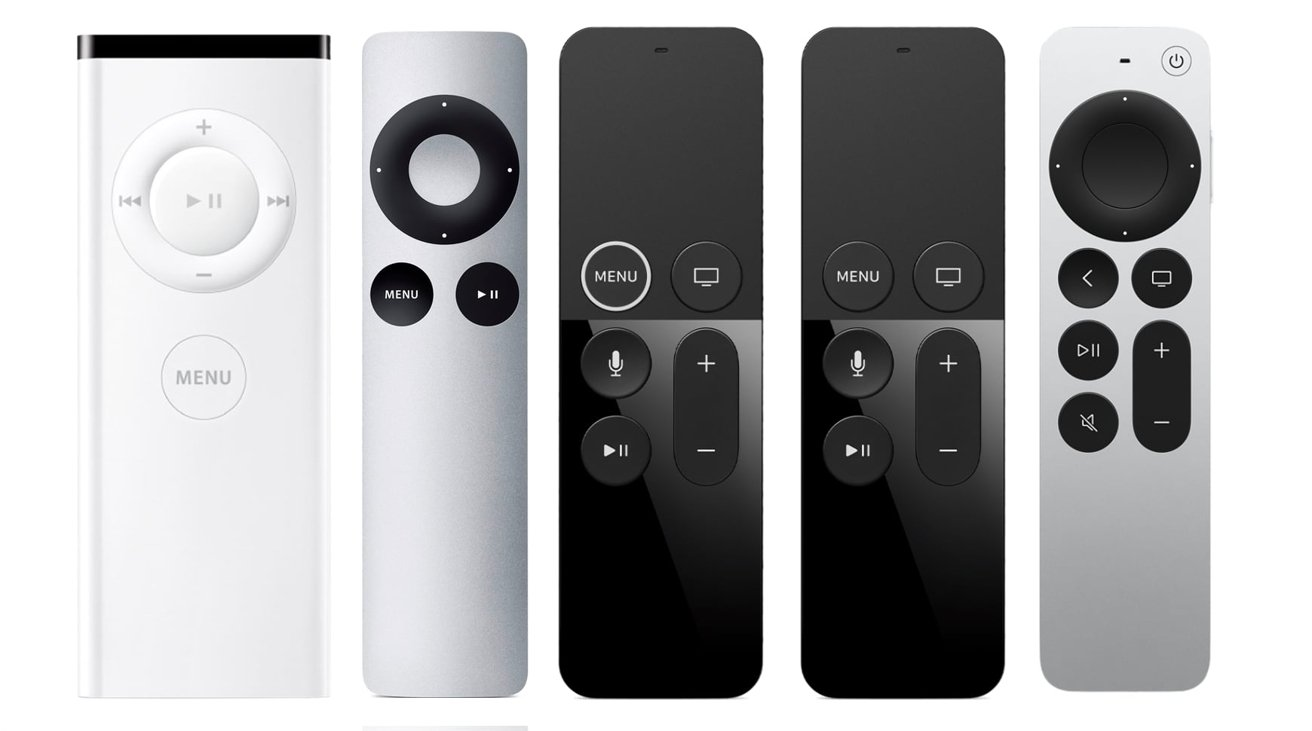 Apple's history of remote controls