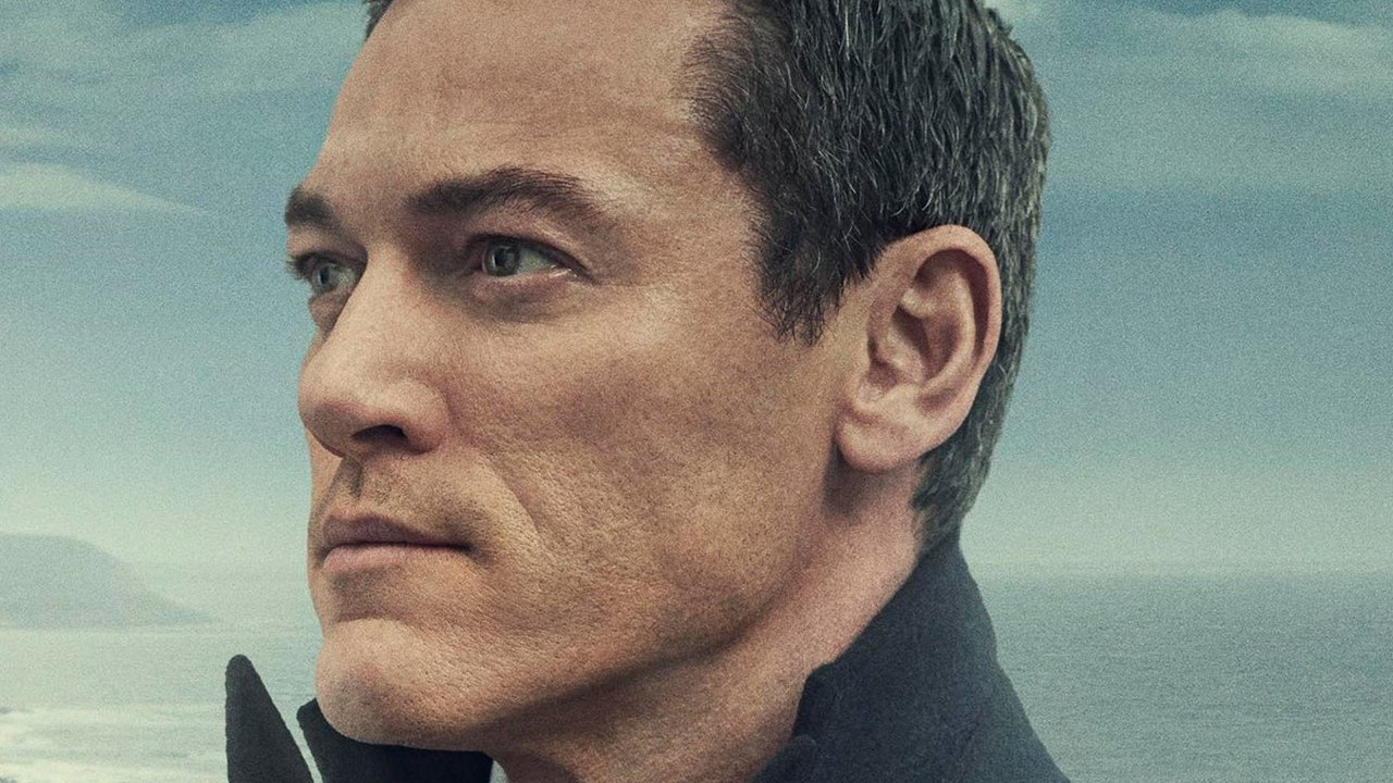 Luke Evans in poster artwork for