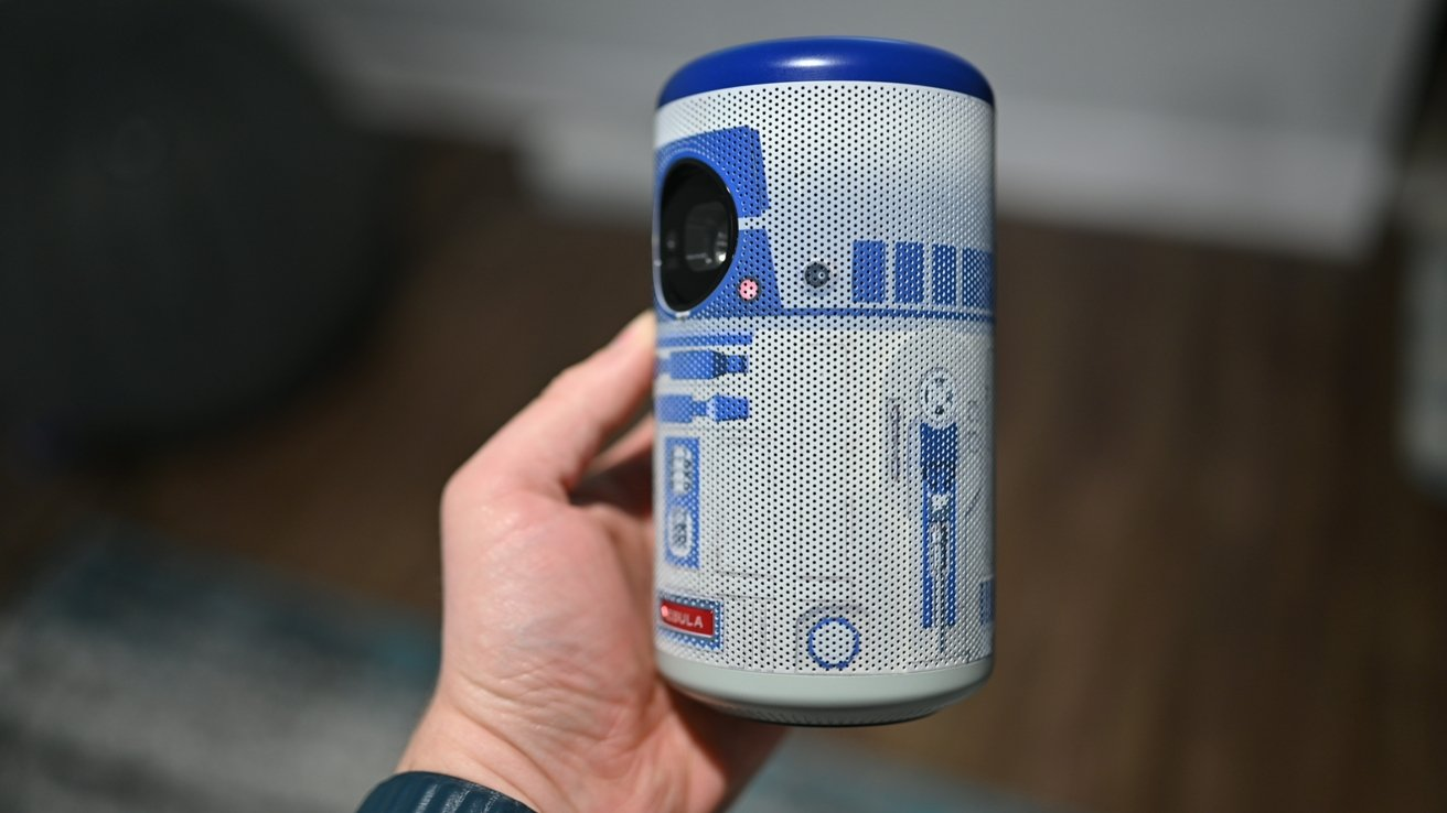 R2-D2 Nebula Capsule II side view