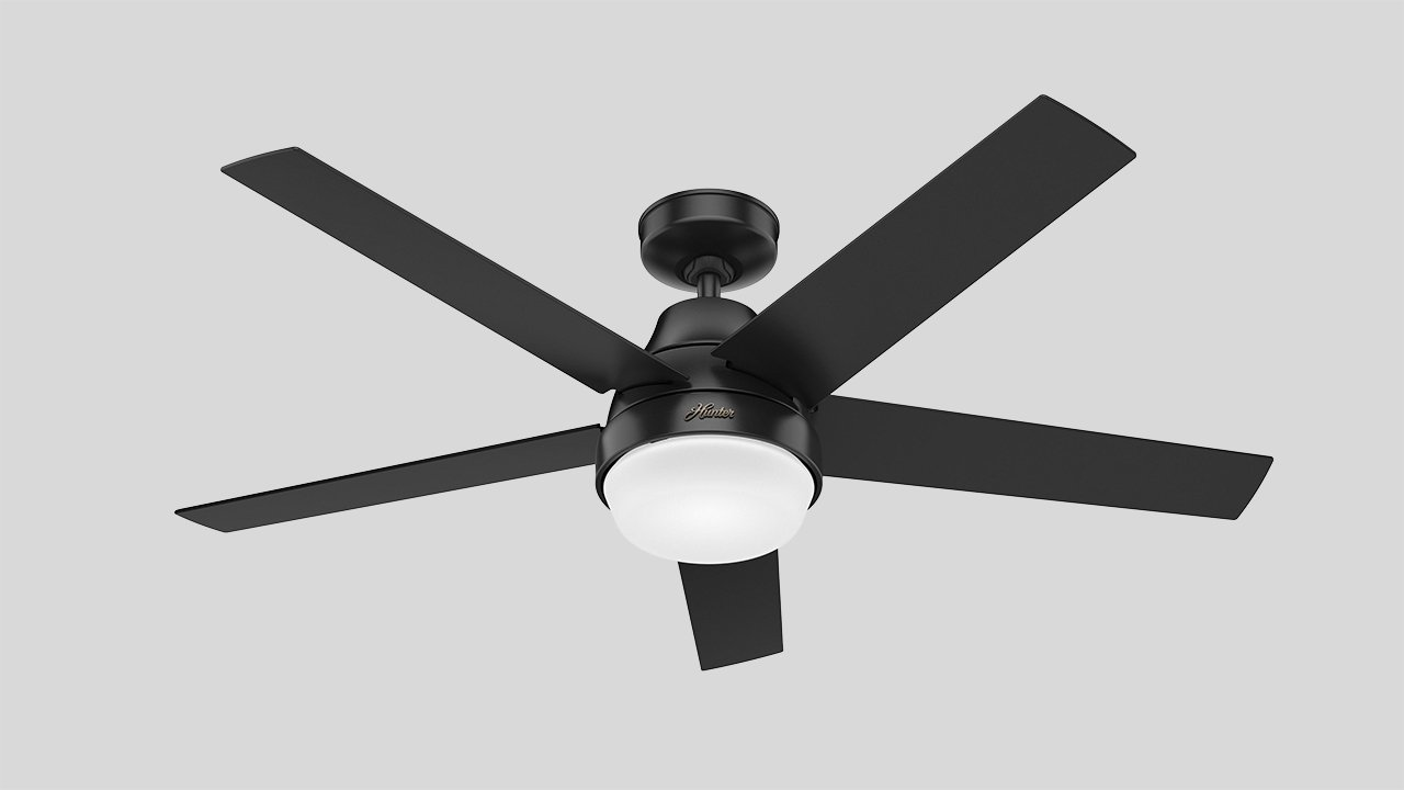 Hunter Fan launches new HomeKit-enabled ceiling fan models