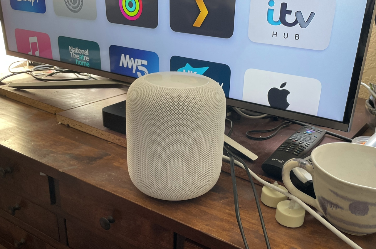 You can connect just one HomePod and it is better than jus your TV set